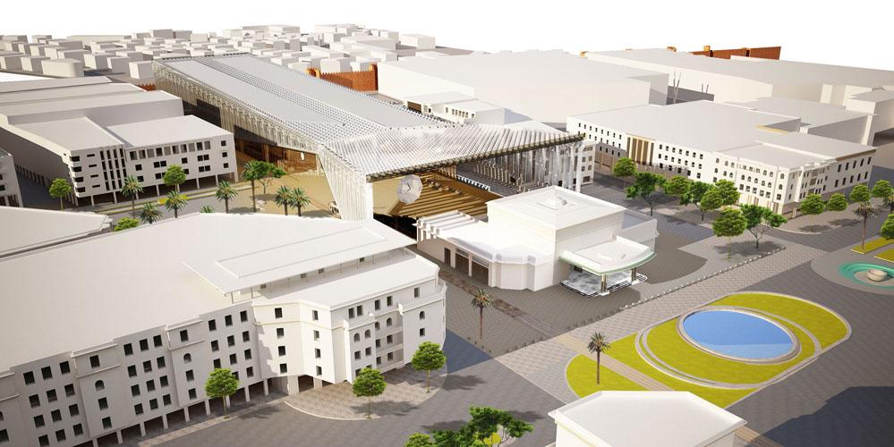 Conseil en montage - Gare de RABAT (Maroc)