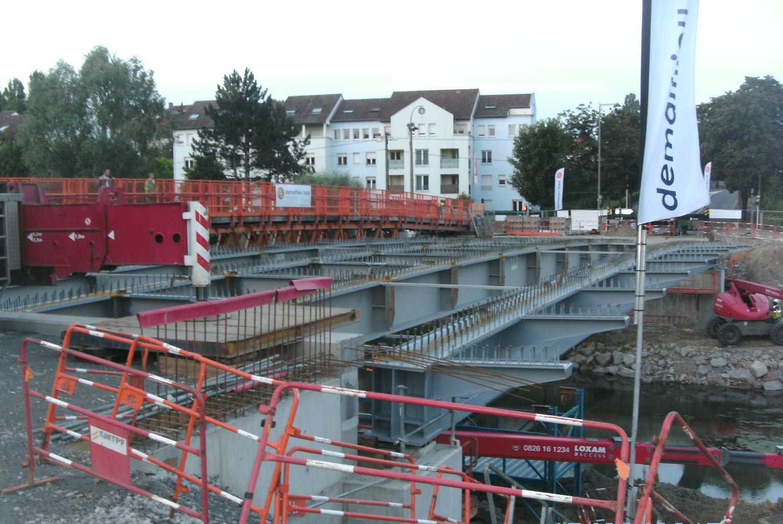 Pont Lothaire - METZ (57)